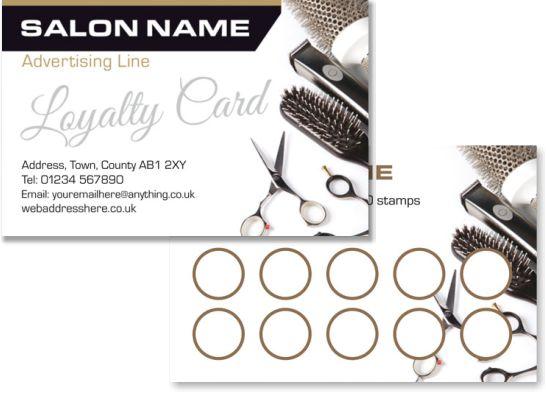 karta salonu fryzjerskiego
