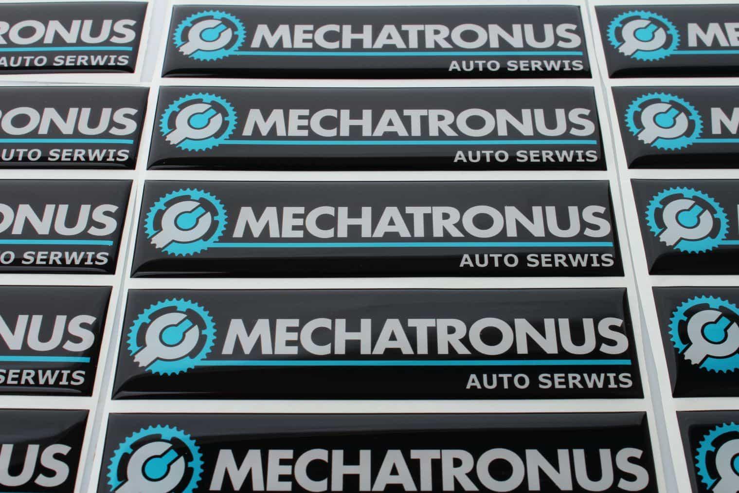 realizacja naklejki 3d dla Mechatronus