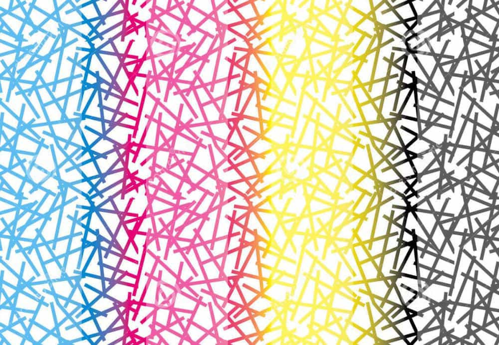 kolory druku cmyk rgb