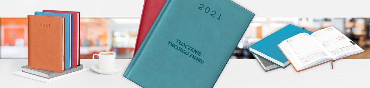 kalendarz książkowy 2021, model Standard V