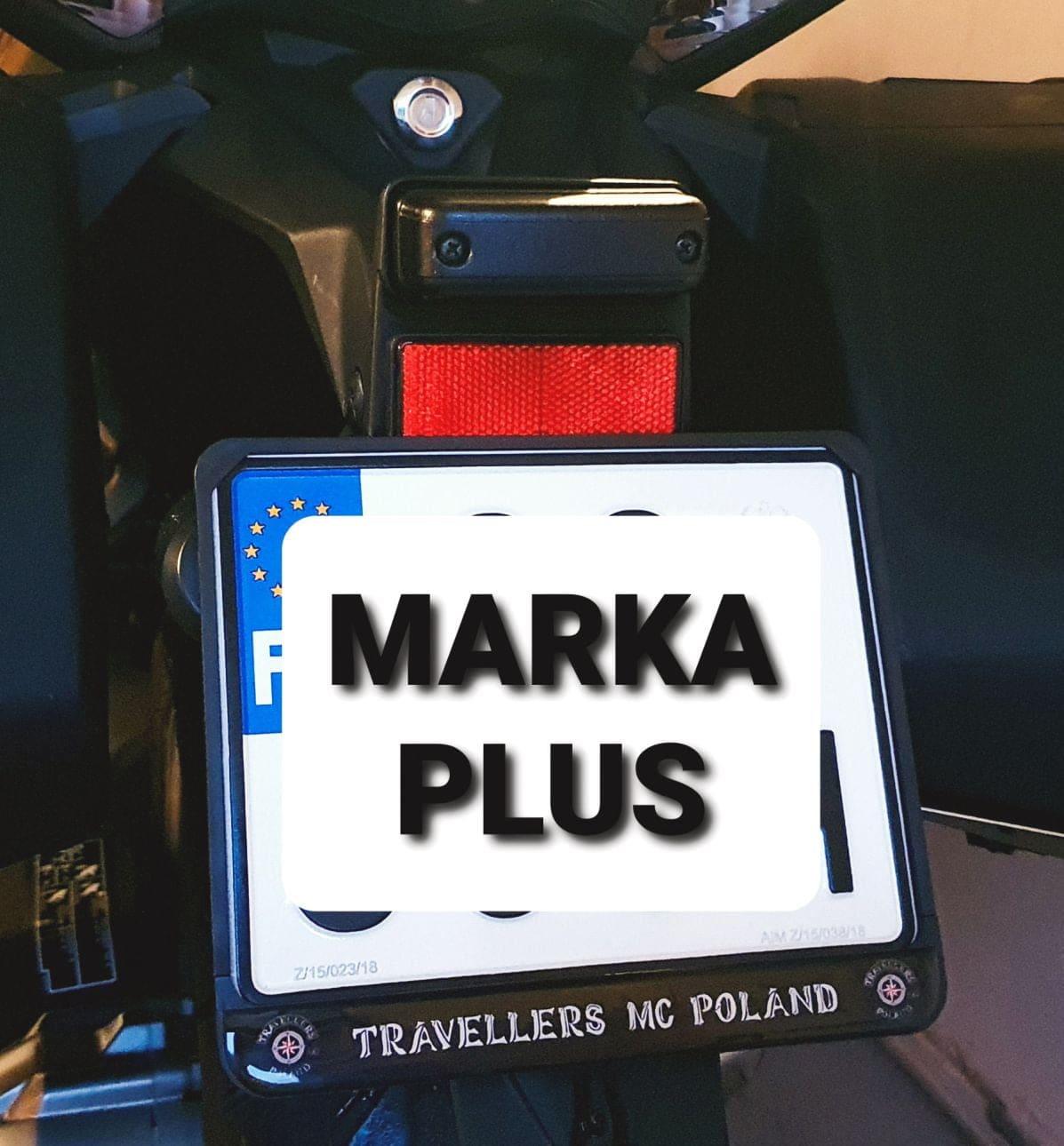 ramki motocyklowe z nadrukiem Travellers
