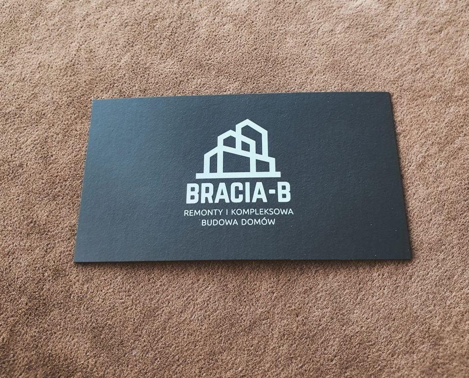 wizytówki barwione firmy Bracia-B