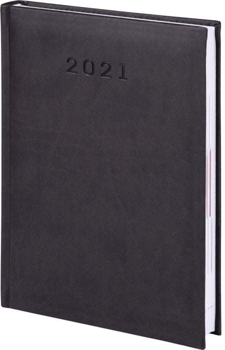 kalendarze książkowe 2021, kolor czarny