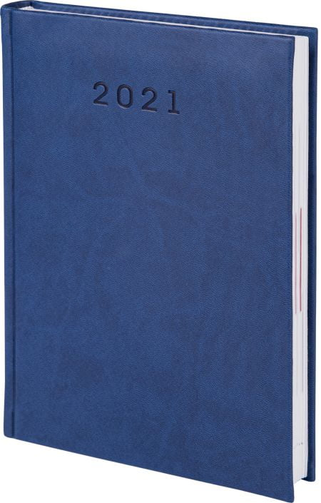 kalendarze książkowe 2021, kolor granatowy