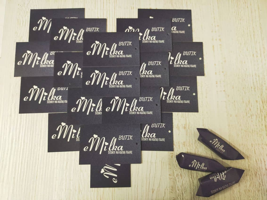 metki z logo eMilka