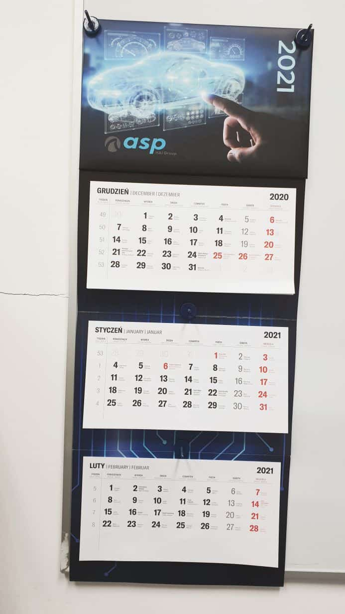 kalendarze reklamowe z nadrukiem firmowym asp