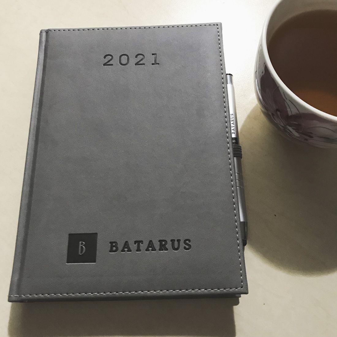 kalendarze książkowe z logo Batarus