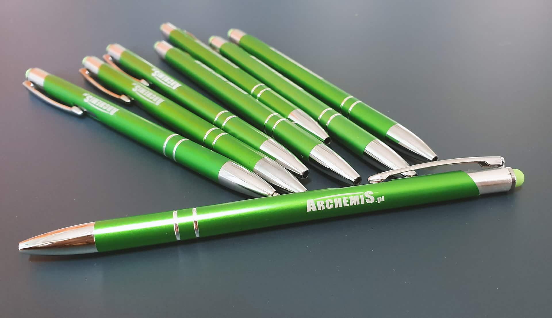 długopisy reklamowe z logo Archemis
