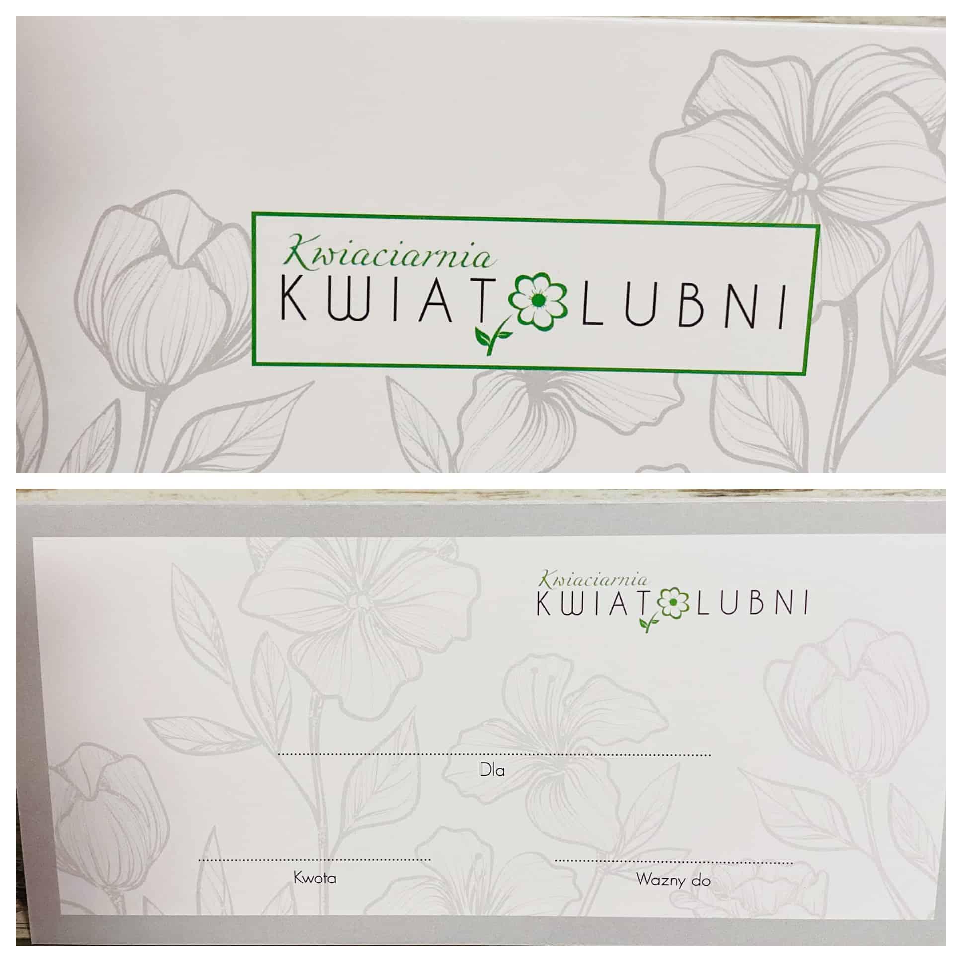 vouchery z logo Kwiatolubni