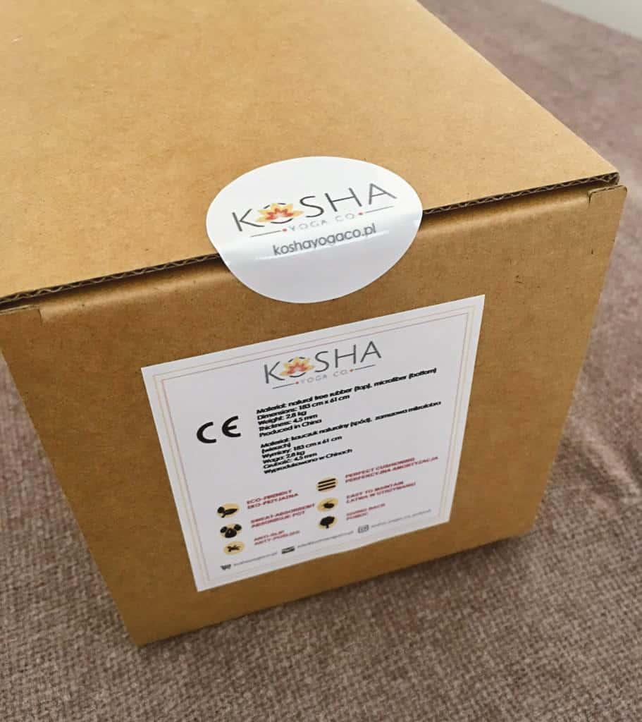 naklejki z logo Kosha