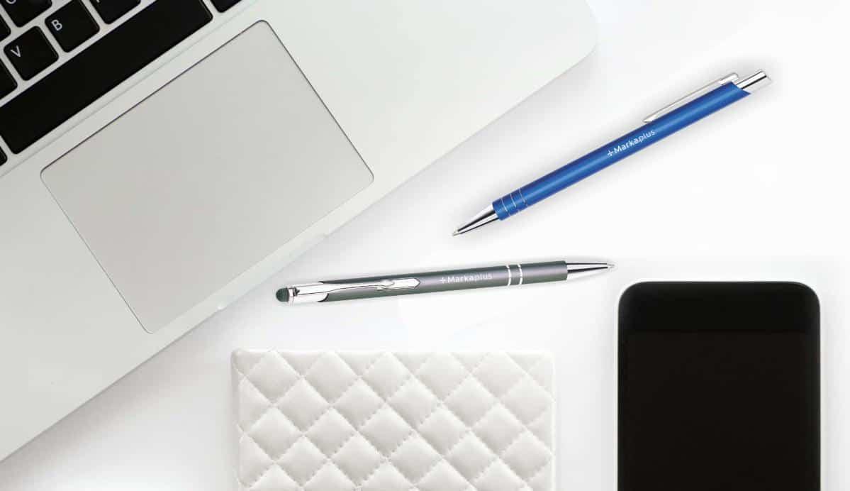 długopisy reklamowe z logo Marka.plus