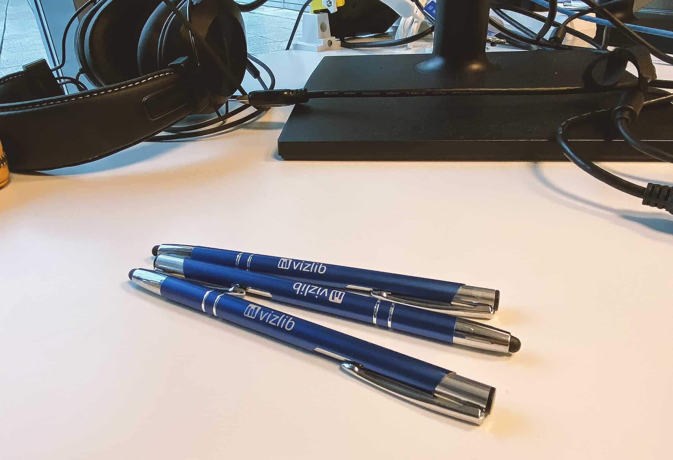 długopisy firmowe z logo vizlib