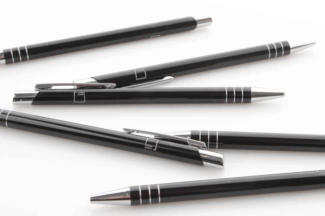 długopisy firmowe z nadrukiem dla firmy Forest Invest