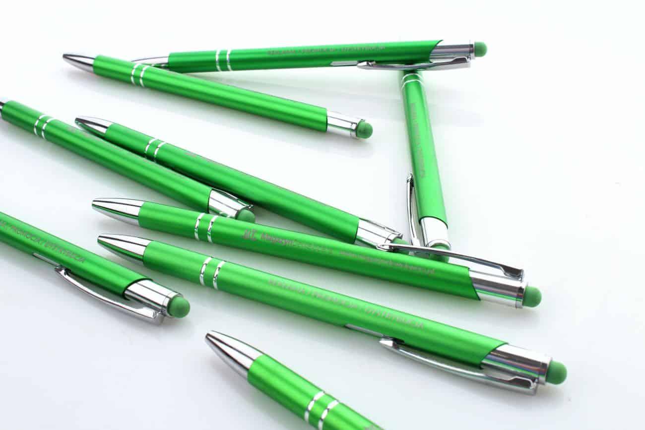 długopisy reklamowe z logo Magazyn Dewelopera