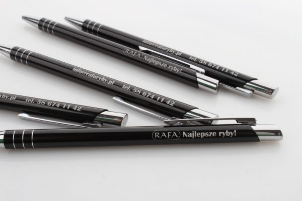 długopisy z grawerem dwustronnym Rafa