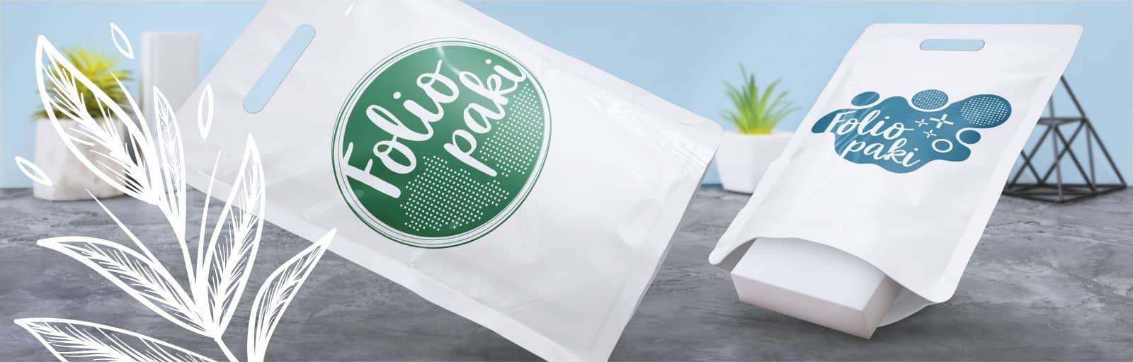 ekologiczne foliopaki z logo firmy