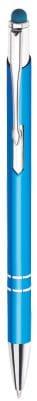 długopis model bello touch pen w kolorze turkusowym