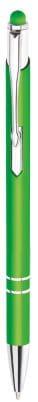 długopis model bello touch pen w kolorze zielonym