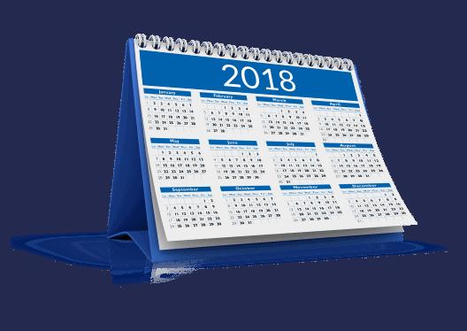 kalendarze biurkowe z nadrukiem