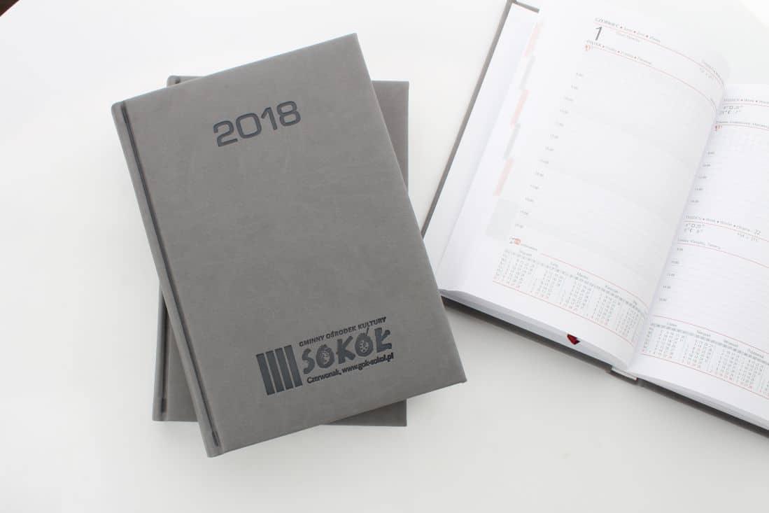 Kalendarze książkowe dla firmy Sokół