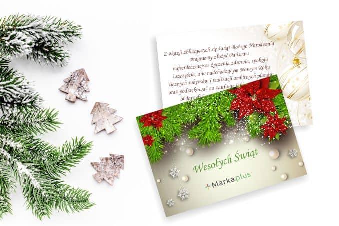 Bardzo dobra Kartki Świąteczne dla firm - Wydrukujemy kartki z Twoim logo TM93