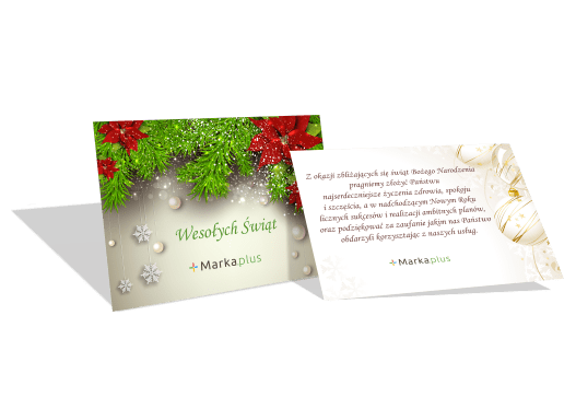 ikona na kartkach świątecznych