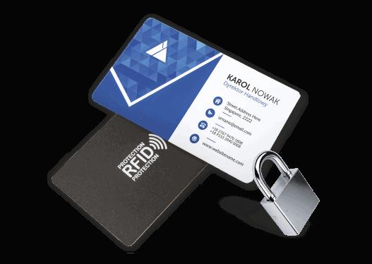 wizualizacja kart z blokada RFID