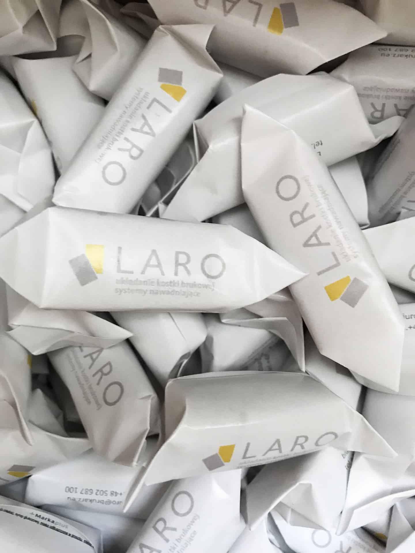 krówki reklamowe z logo Laro