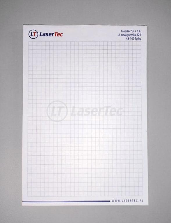 notesy reklamowe z logo LaserTec