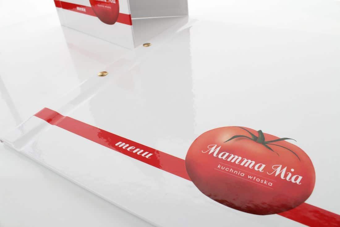 Okładki Menu Dla Restauracji Mamma Mia Kuchnia Włoska