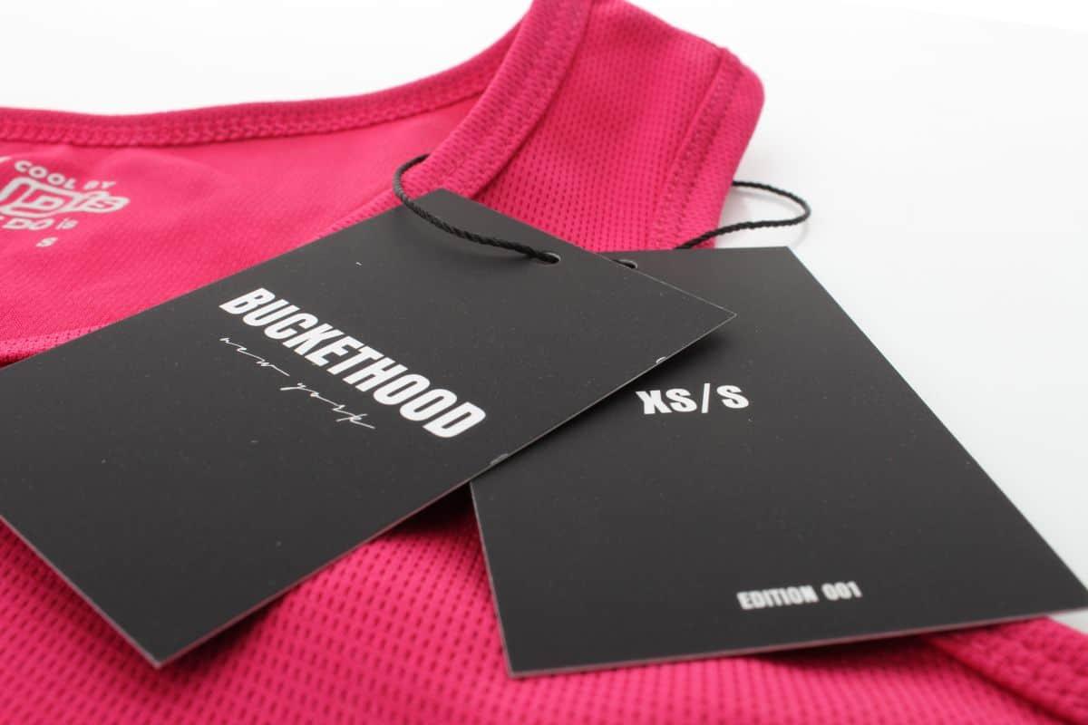 metki odzieżowe z logo buckethood