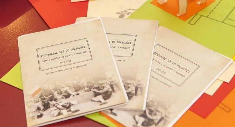 zeszyty z nadrukiem dla Szkoły polskie na Warmii i Mazurach
