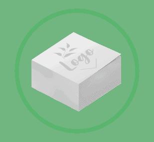 ikonka - kostki, bloczki reklamowe