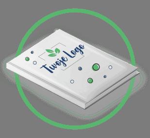 ikonka - notesy w twardej oprawie z nadrukiem