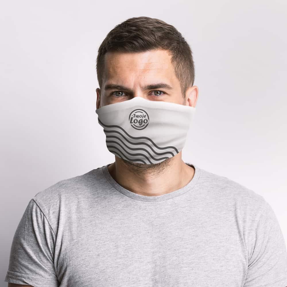 ochronniki na twarz z Twoim logo
