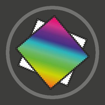 ikonka - kolorowy nadruk