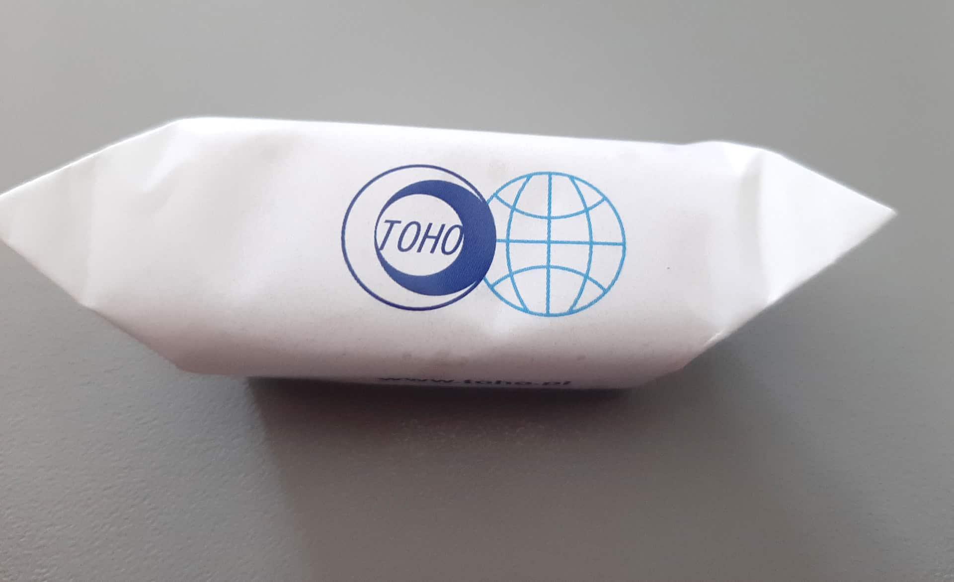 krówki firmówki z logo Toho