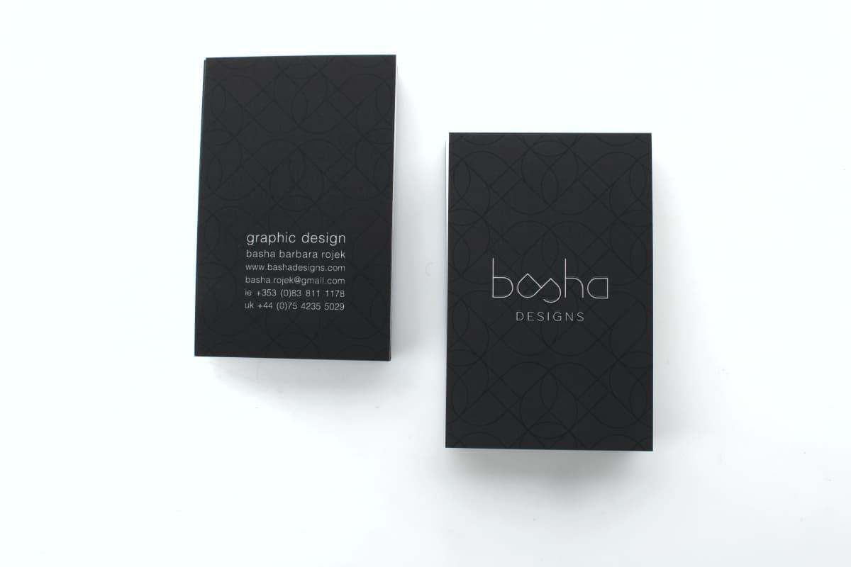 wizytówki UV 3d BASHA Design