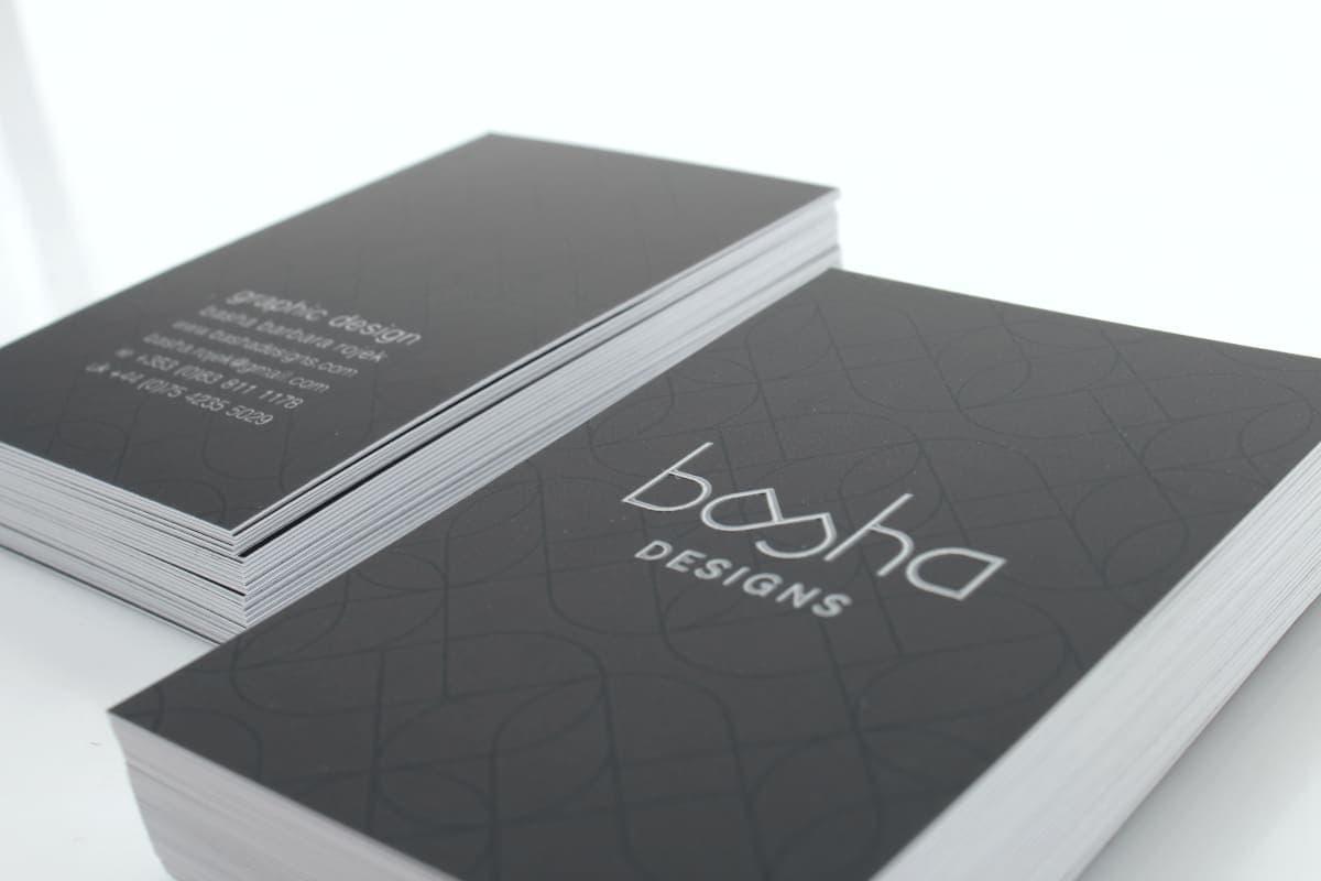 wizytówki UV 3d BASHA 2