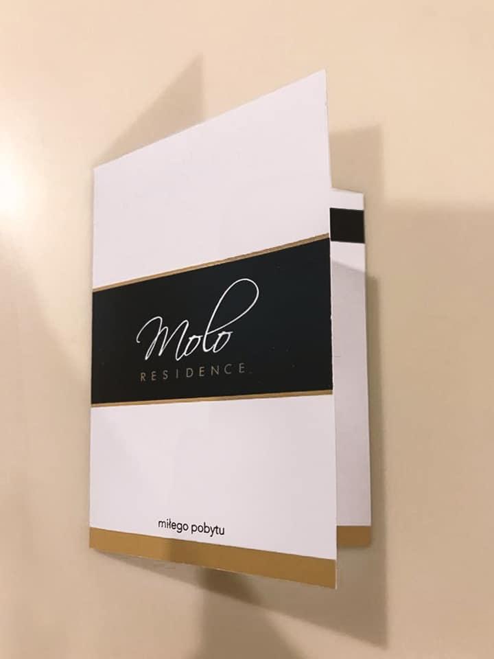 okładki do kart / kluczy hotelowych z logo hotelu molo residence